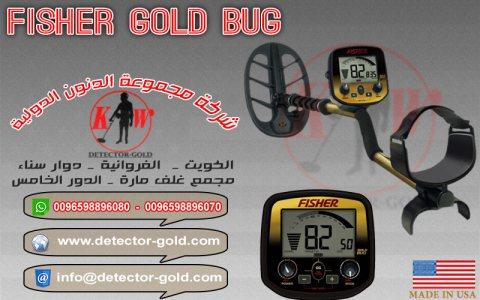 جهاز كشف الذهب والمعادن والكنوز FISHER GOLD BUG