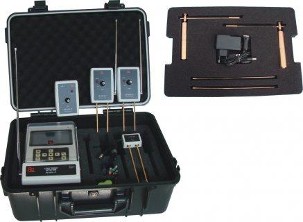 BR 800 P الأستشعاري الأفضل لكشف الذهب وجميع المعادن لعمق 50 م ودائري 2000 م