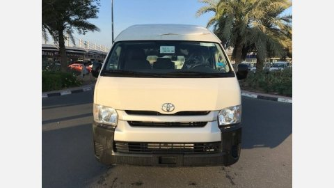 TOYOTA HIACE 2.7L GLS PETROL, PANEL VAN,HIGH ROOF M/T MY17 PRICE 21,700$