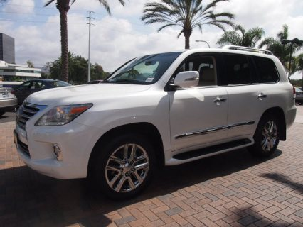 Sales 2013 Lexus LX 570 Full Options (Gulf Spec)